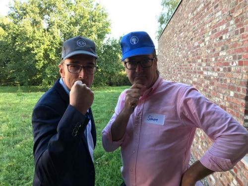 Timo und Sören haben den Hut für ihre Themen auf!